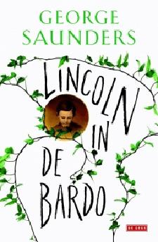 Lincoln in de bardo Boek omslag
