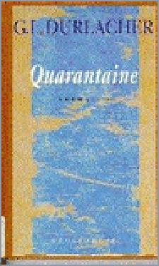 Boek Cover Quarantaine