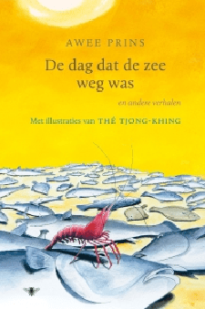 De dag dat de zee weg was Boek omslag