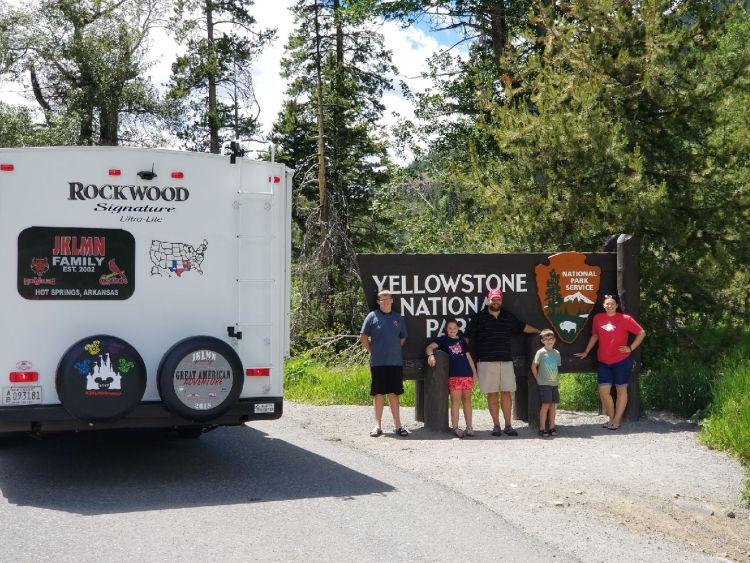 Yellowstone entry