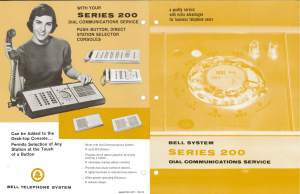 Bell System Series 200 Dial Communications Service