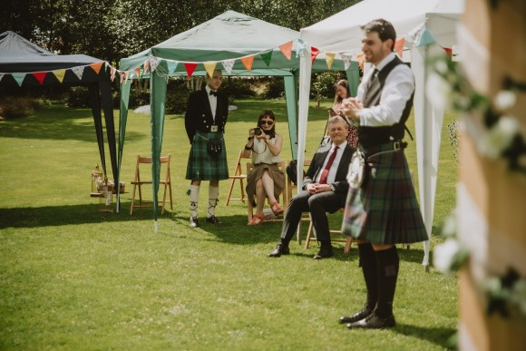 Inverness garden wedding
