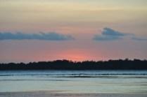 Sunset over Gili Meno