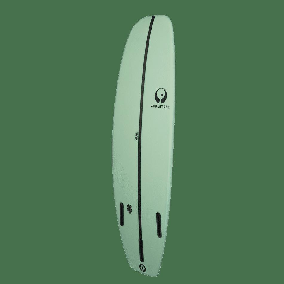 Surf de surfkite Luke'Leaf couleur menthe, le Tomo d'Appletree Surfboards