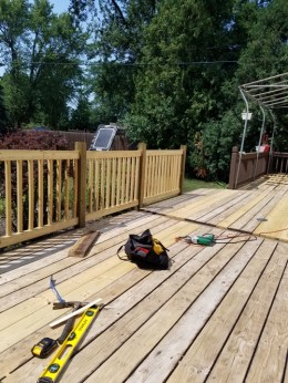Deck Rails After