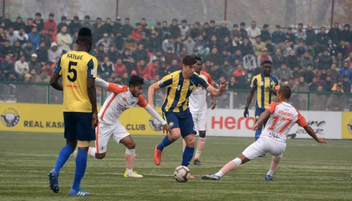 I-League: Real Kashmir FC officials and head coach abused by Gokulam Kerala FC officials