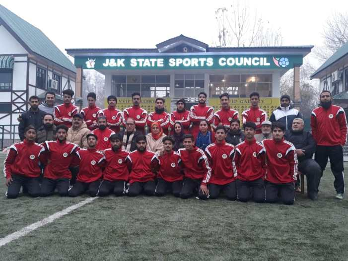 JKFA Under 19 team to participate in BC Roy Trophy National Championship