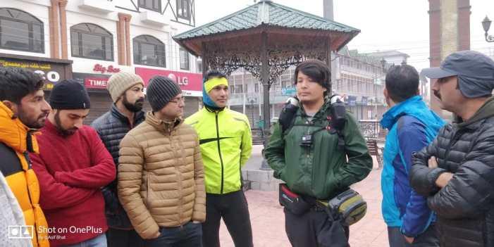 JKMBA, JKASC flag off cyclist, ultra runner for K2K expedition