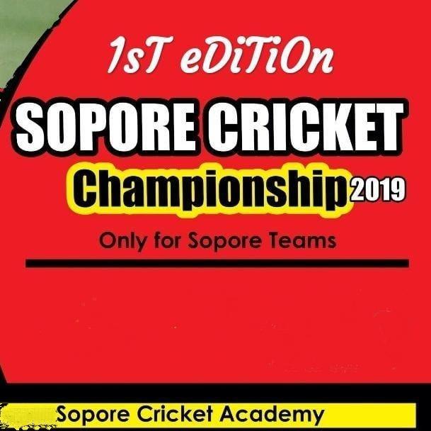 24 teams to participate in Sopore Cricket Championship 2019