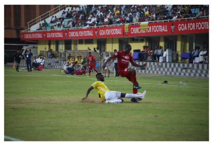 Plaza Scores again as Churchill and Real Kashmir play out hard-fought draw