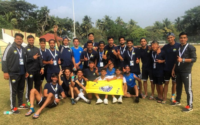 Youth League: Real Kashmir FC U-18 wins first match in final round of Elite Youth league