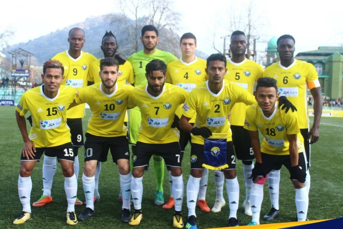 I-League: Real Kashmir FC are on top of the table