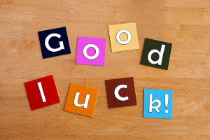 Good Luck - Sign For Best Wishes