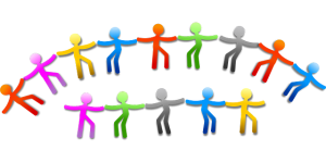 work together teamwork