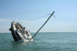 Randy Conley sinking-ship