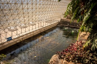 Inside the ocean at Biosphere 3
