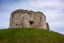 Clifford's Tower in downtown York