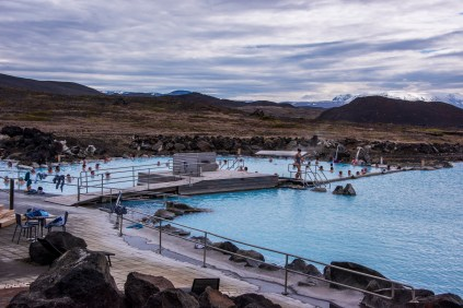 A smaller and cleaner northern version of the Blue Lagoon
