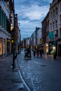Early morning Dublin