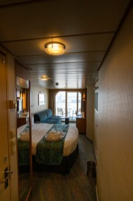 A typical verandah stateroom