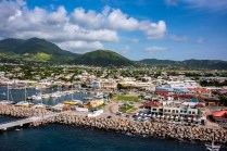 St. Kitts from the sundeck on Allure
