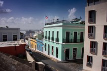 Love the colorful buildings in Old San Juan