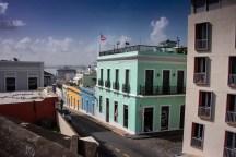 Love the colorful buildings in Old San Juan
