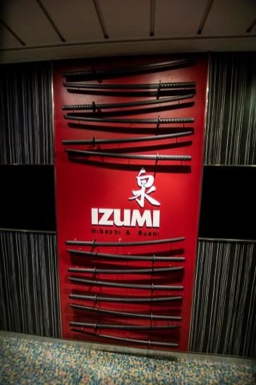 Izumi, the Japanese Beni-hana type restaurant