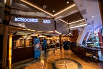 The Schooner Bar on the upper Royal Promenade