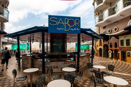On The Boardwalk–the Sabor bar