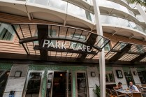 Outside Park Cafe-we had lunch here a few days. Paninis and salads.