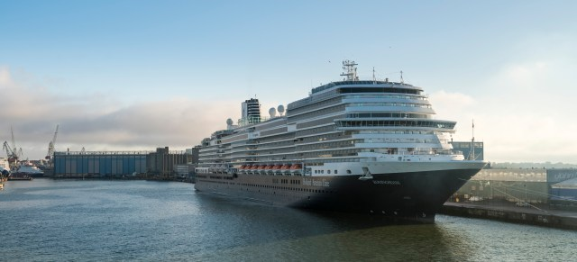 Holland America cruise ship Koningsdam in Helsinki