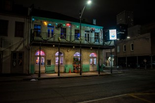 My first early morning shot on the ground in the Big Easy.