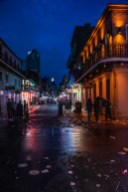 The cleanup on Bourbon Street