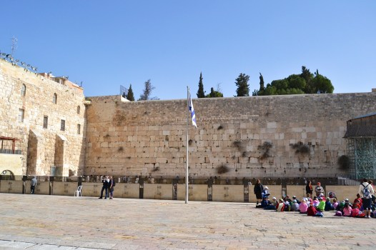 Wailing Wall up close