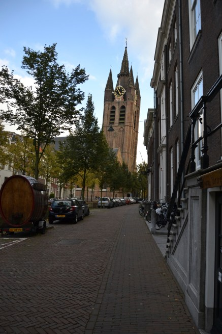 Delft has a crooked tower