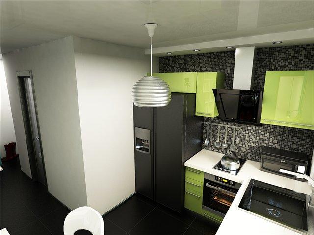 кухня хрущевка с колонкой 5 метров дизайн ремонт без перепланировки 6