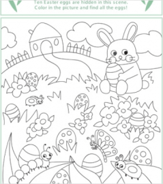 Free coloring pages and activity sheets from Spoonful