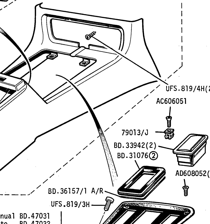 Rubber Auto Gear Selector Trim