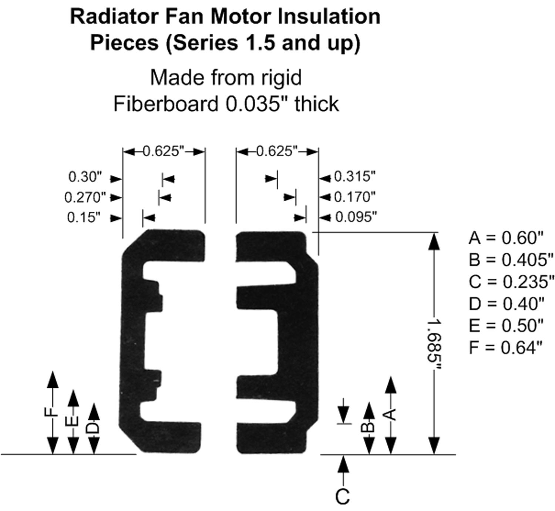Square Cooling Fan Motor