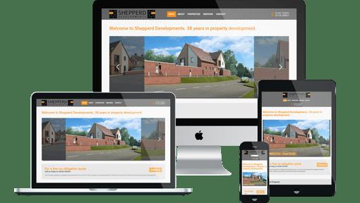 Shepperd Developments on desktop, laptop, tablet and mobile