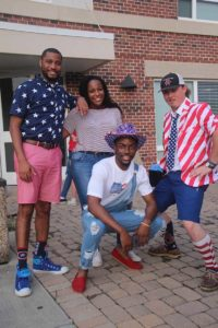 RAs on the Fourth of July