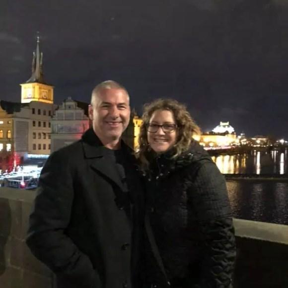 Us in Prague