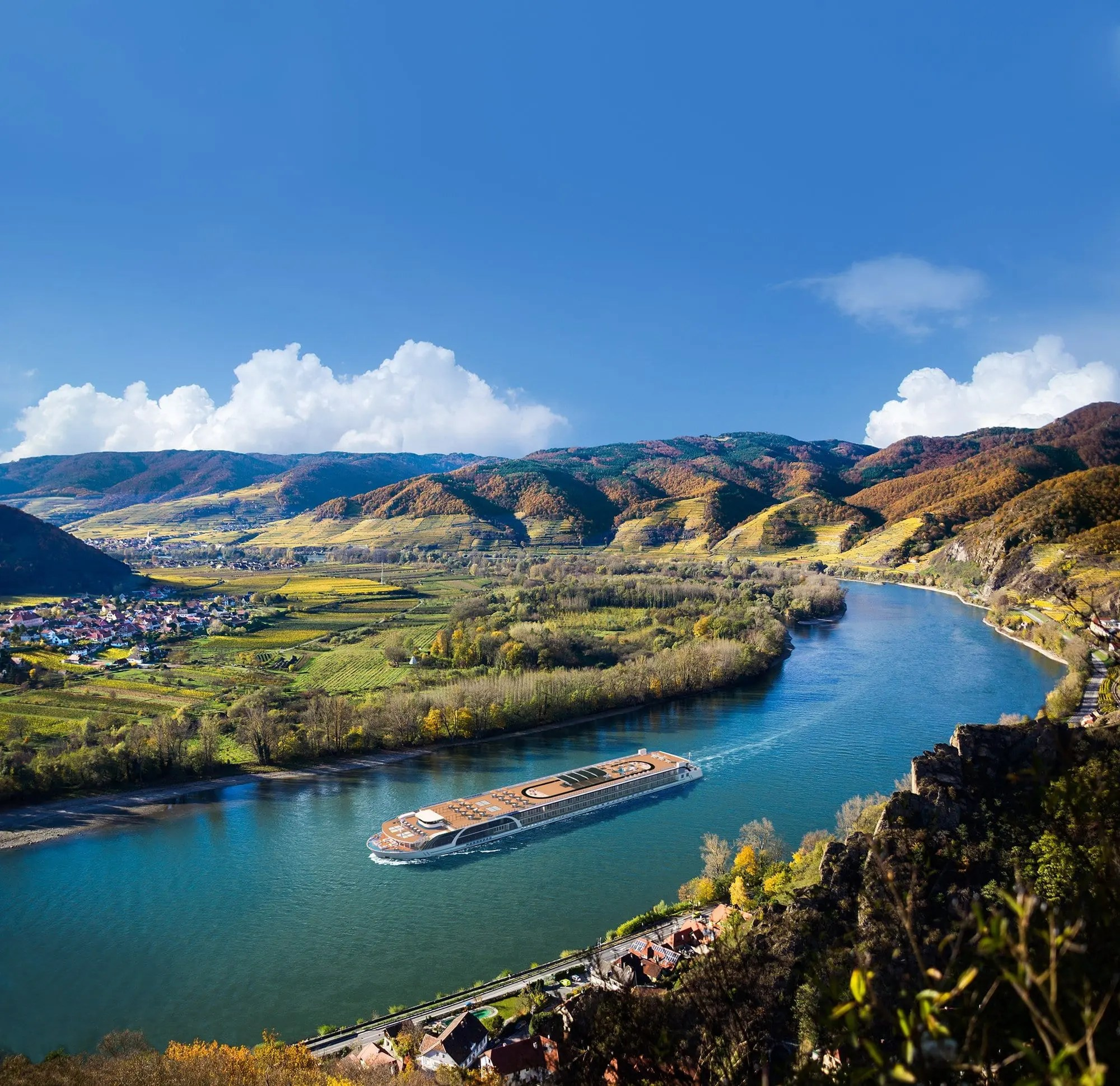 AmaMagna on the Danube