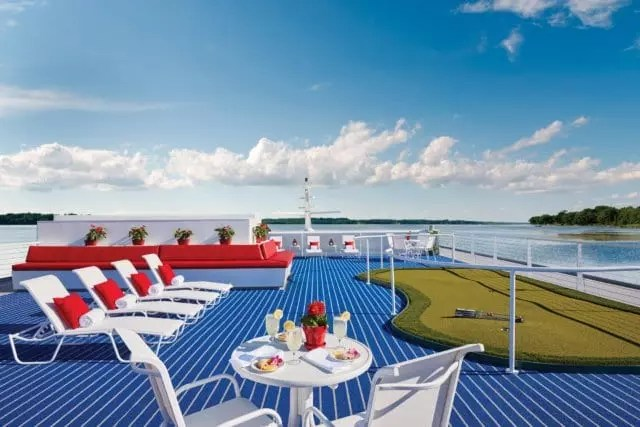American Cruise Lines Sundeck