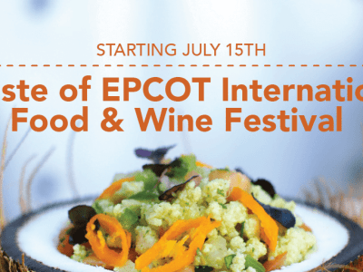 A Taste of EPCOT International Food & Wine Festival