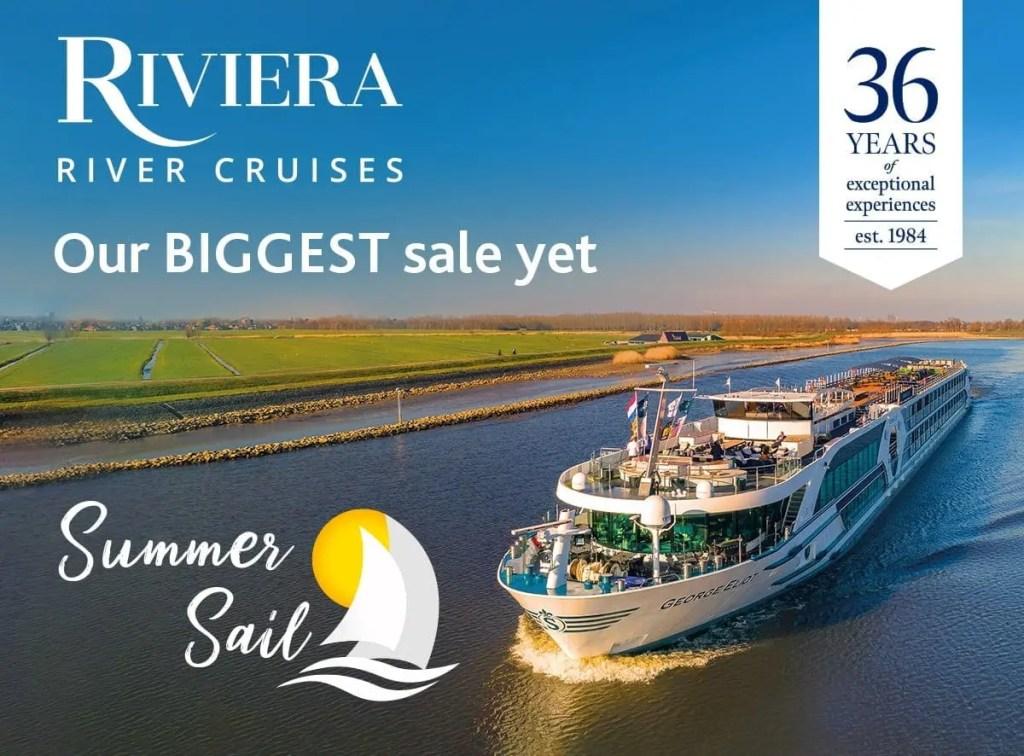 Riviera River Cruise Sale!