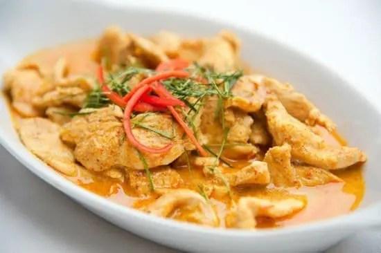 Coconut Tamarind Chicken Curry