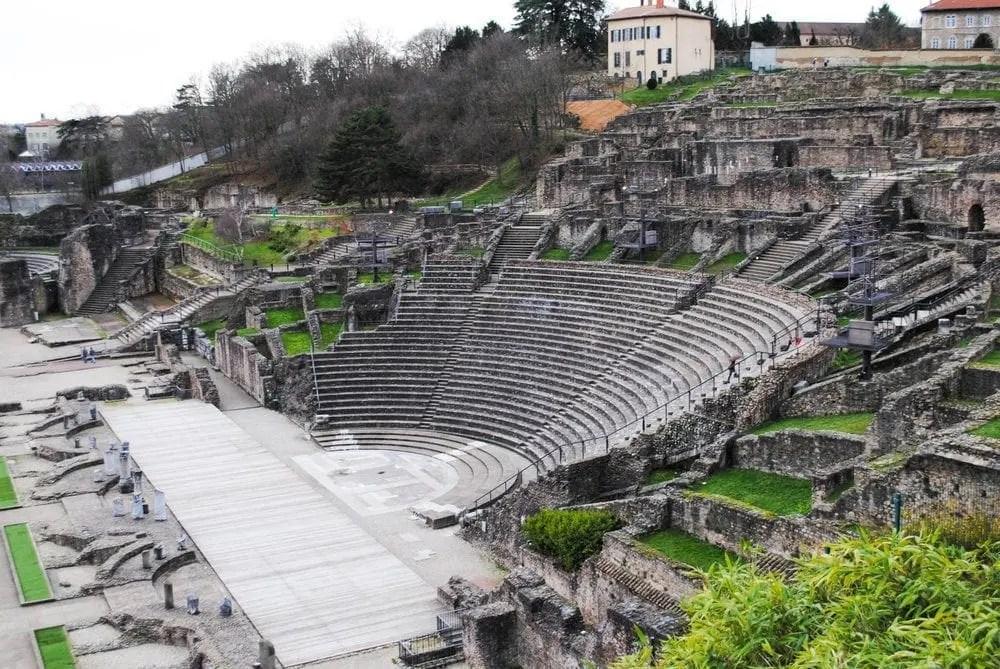 Amphitheater ruins