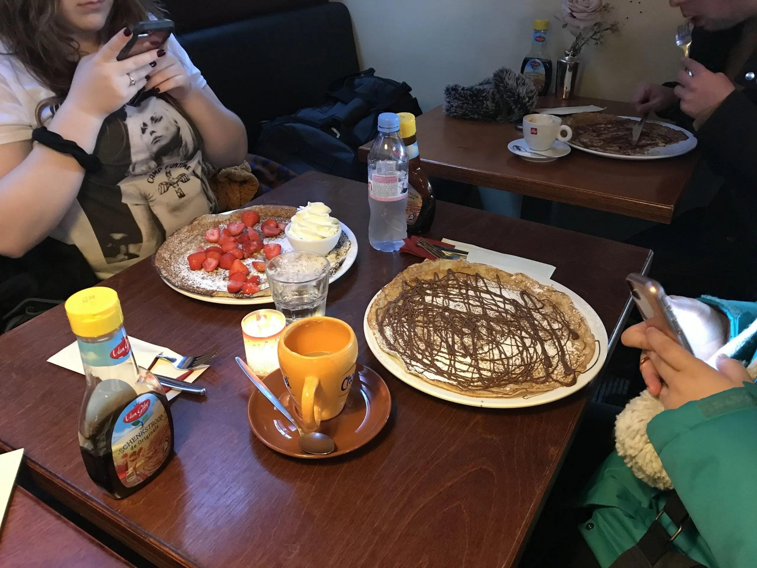 Pancakes in Amsterdam